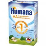 Lapte praf hipoalergenic Humana HA 1 500 G 0 luni+