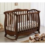 Patut bebelusi Andrea lemn masiv antichizat