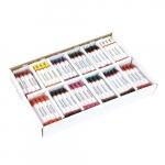Set 144 creioane de ceara in culori asortate