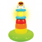 Piramida cu lumini si muzica Stack n Play Lighthouse
