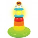 Piramida cu lumini si muzica Stack n Play Lighthouse