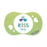 Suzeta fiziologica Kiss me Luc et Lea 6 luni+