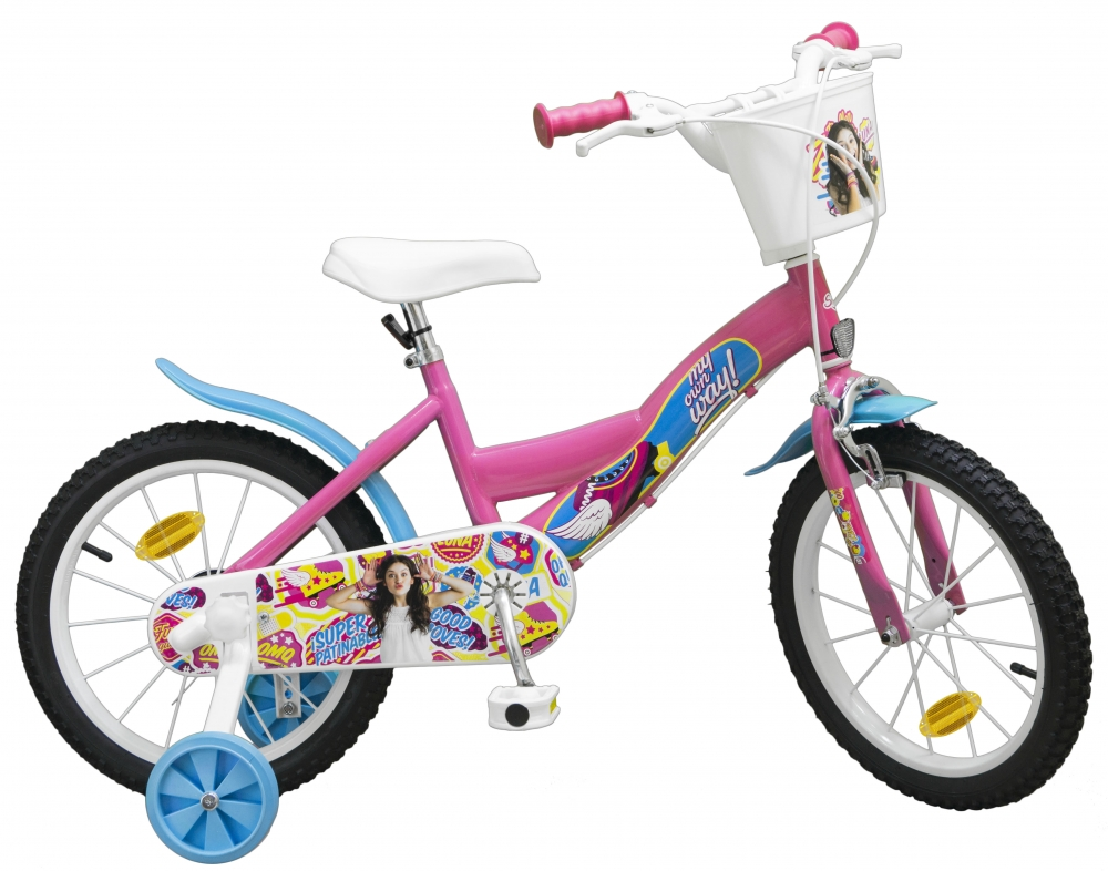 Bicicleta pentru fetite Soy Luna 16 inch