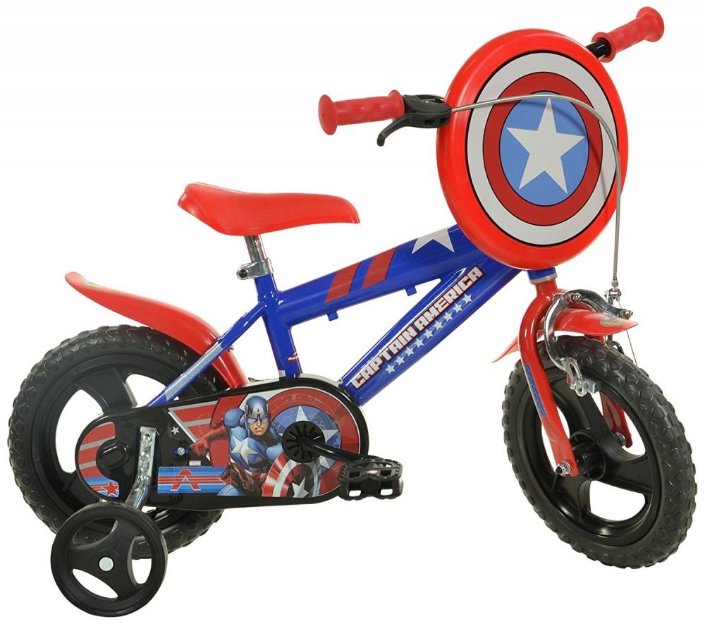 Bicicleta copii 12 Capitan America