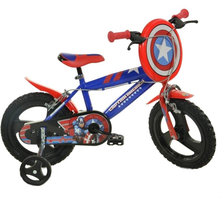 Bicicleta copii 14 Capitan America