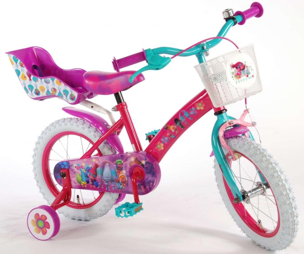 Bicicleta pentru fetite EL Trolls 14 inch imagine