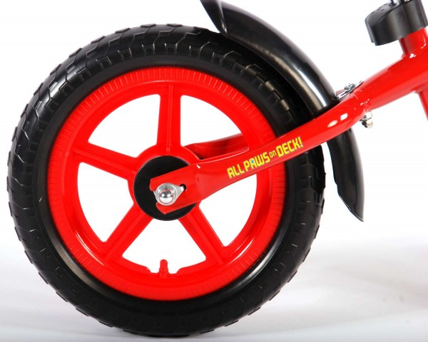 Bicicleta fara pedale pentru baieti 12 inch Volare Paw Patrol