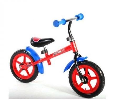Bicicleta fara pedale pentru baieti 12 inch Volare Spiderman