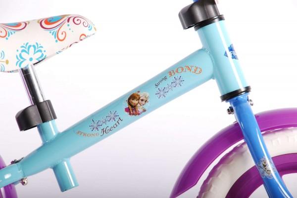 Bicicleta fara pedale pentru fete 12 inch Volare Frozen