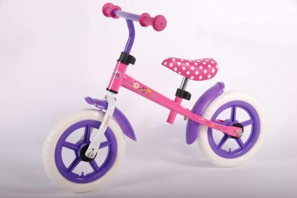 Bicicleta fara pedale pentru fete 12 inch Volare Minnie Mouse
