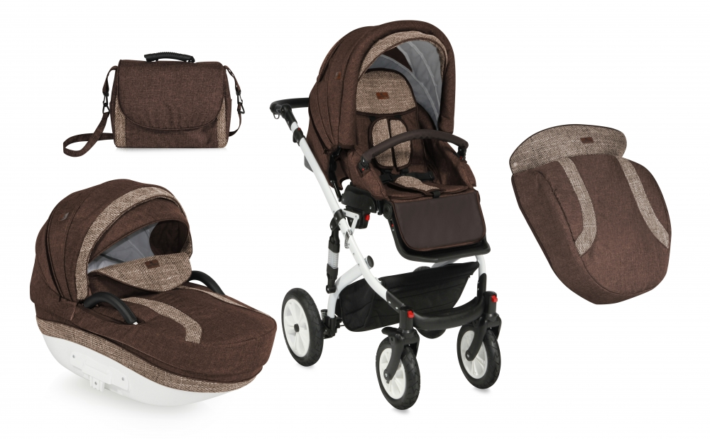 Carucior 2 in 1 Mia Air brown