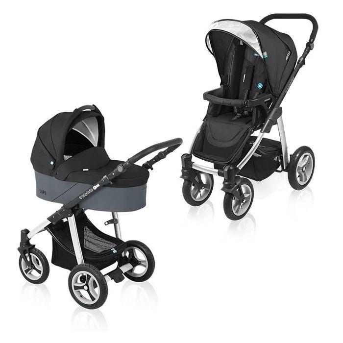 Carucior Multifuncional 2 In 1 Baby Design Lupo Black 2016