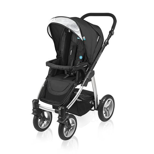 Carucior multifuncional 2 in 1 Baby Design Lupo black 2016