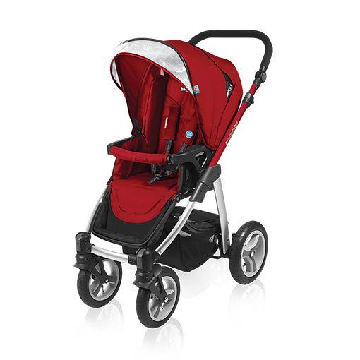 Carucior multifuncional 2 in 1 Baby Design Lupo red 2016