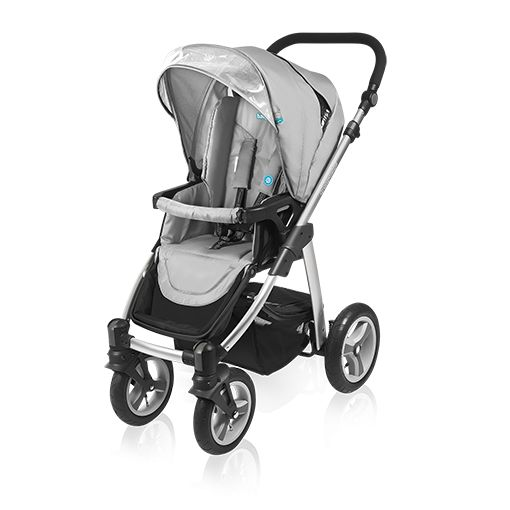 Carucior multifunctional 2 in 1 Baby Design Lupo 07 gray 2016