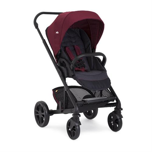 Carucior Multifunctional Chrome Deluxe Merlot