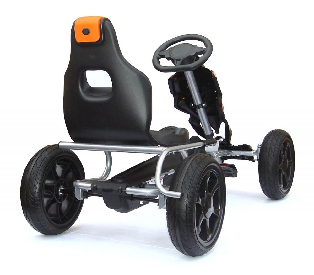 Kart cu pedale pentru copii Adrenaline Black imagine