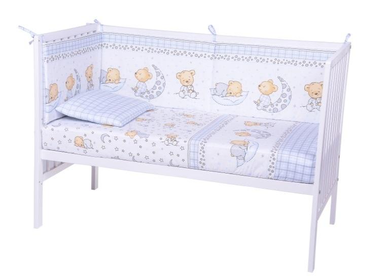 Lenjerie Patut Cu 5 Piese Sleepy Little Bear 015