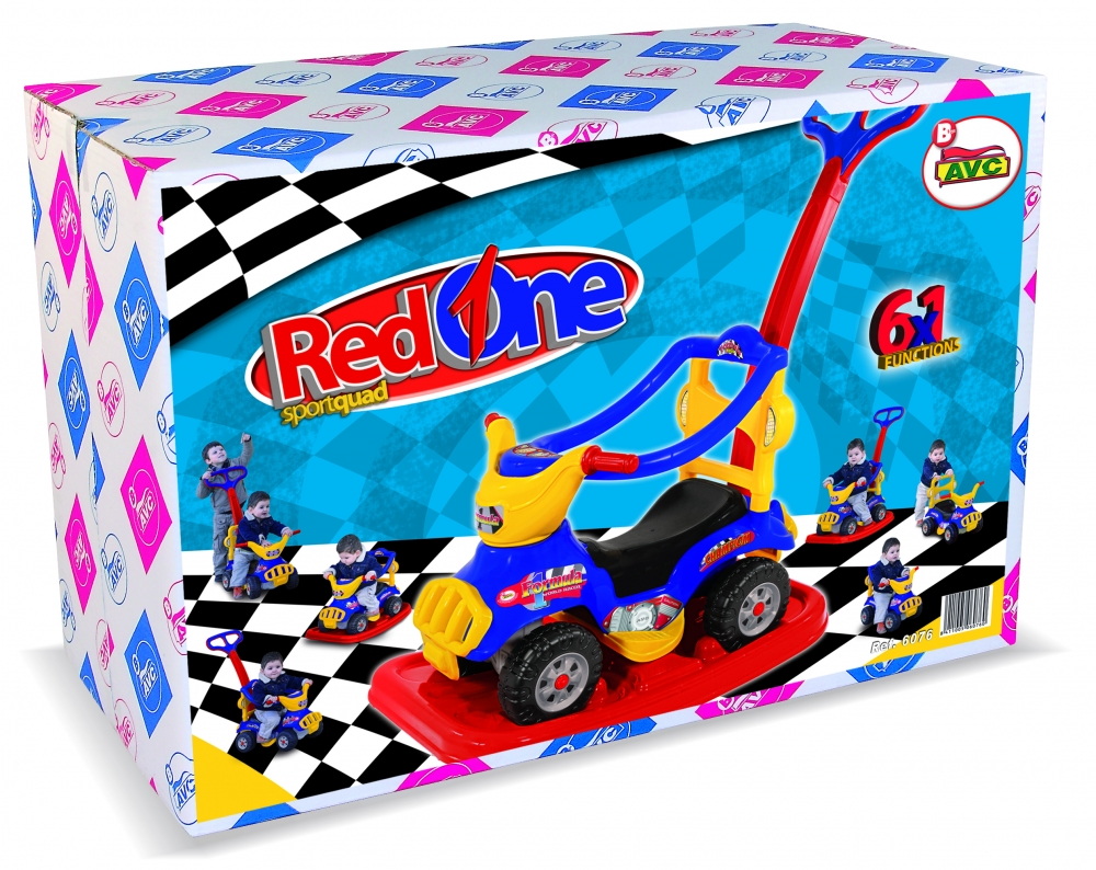 Masinuta Ride On Sport 6X1 Formula Red One