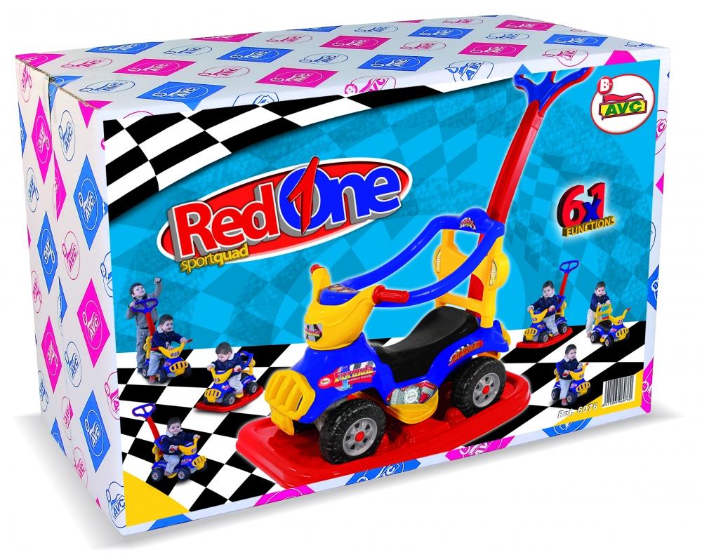 Masinuta Ride On Sport 6X1 Formula Red One