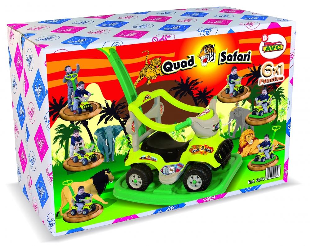 Masinuta Ride On Sport 6X1 Safari