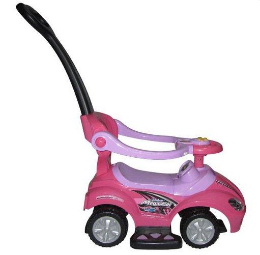 Masinuta de impins Arti 382 Mega Car Deluxe roz