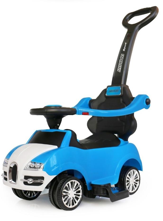 Masinuta de impins Rider 2 in 1 Blue