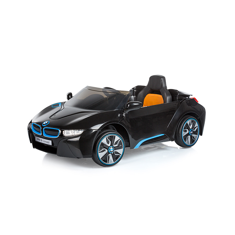 Masinuta electrica cu telecomanda Chipolino BMW I8 Concept black imagine