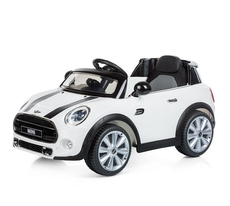 Masinuta electrica cu telecomanda Chipolino Mini Cooper Hatch white