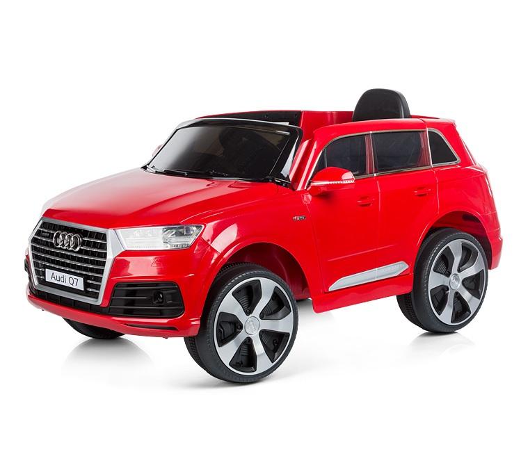 Masinuta electrica cu telecomanda Chipolino SUV Audi Q7 red