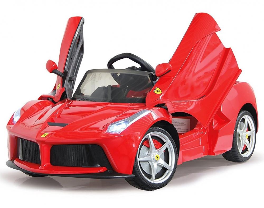 Masinuta Electrica Ferrari Laferrari Rosie 6v Cu T