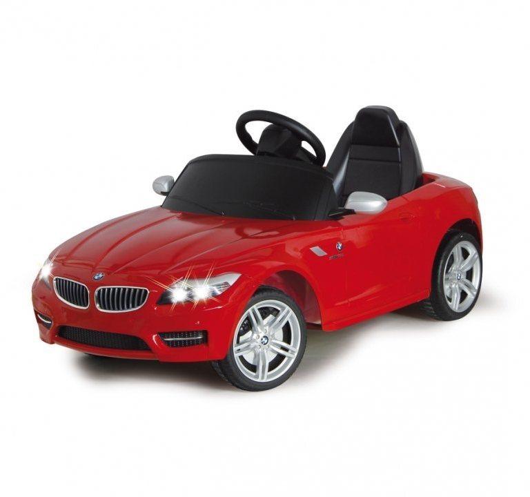 Masinuta electrica BMW Z4 rosie 6V cu telecomanda 40 Mhz imagine