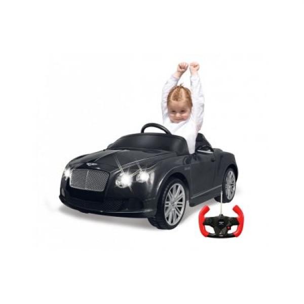 Masinuta electrica Bentley GTC neagra Jamara 9V cu telecomanda