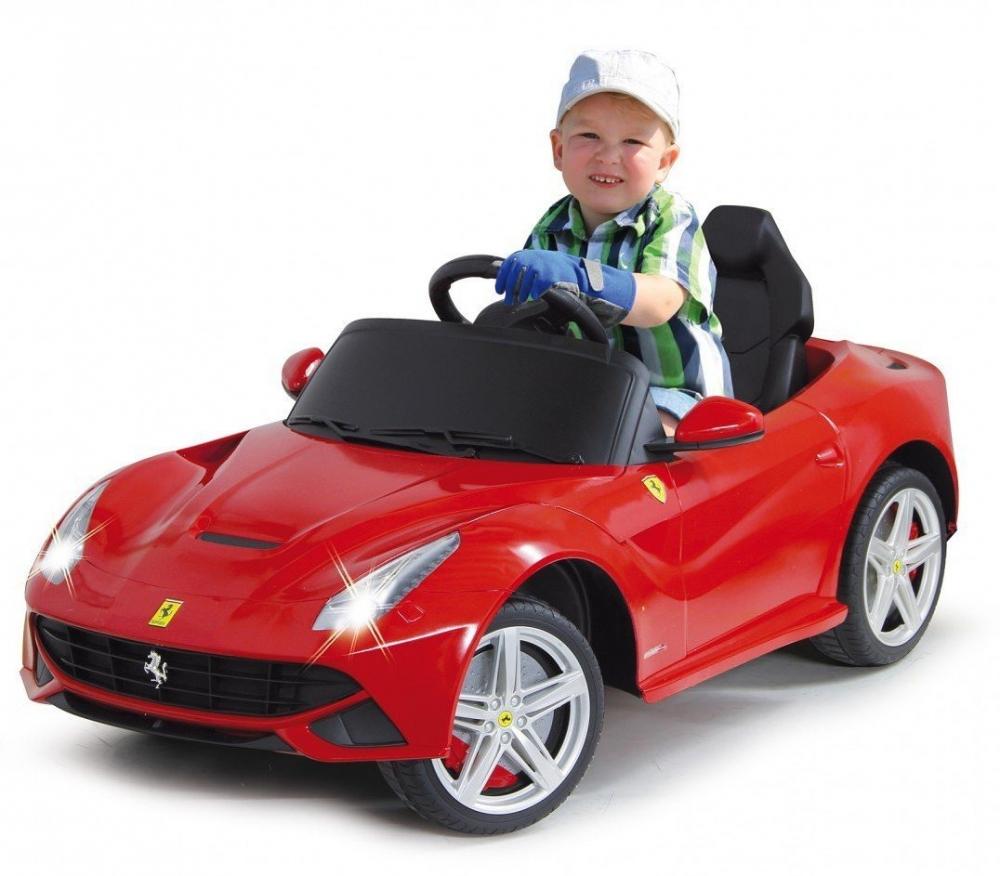 Masinuta Electrica Ferrari F12 Berlinetta Rosie 9v
