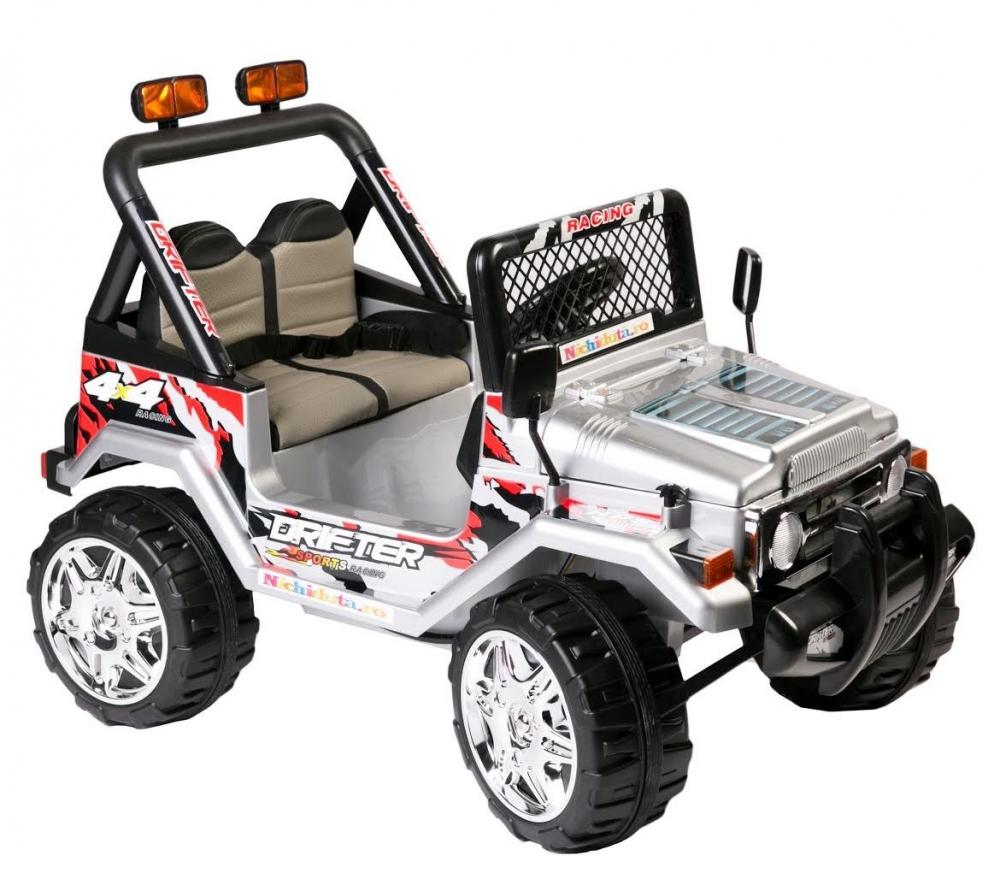 Masinuta Electrica Cu Doua Locuri Drifter Limited Edition Silver
