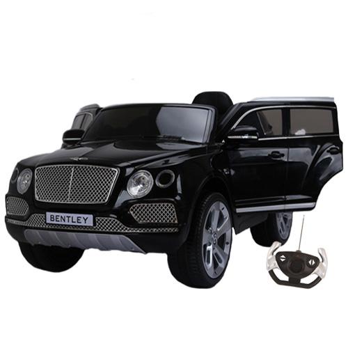 Masinuta electrica cu roti din cauciuc Bentley Bentayga Black