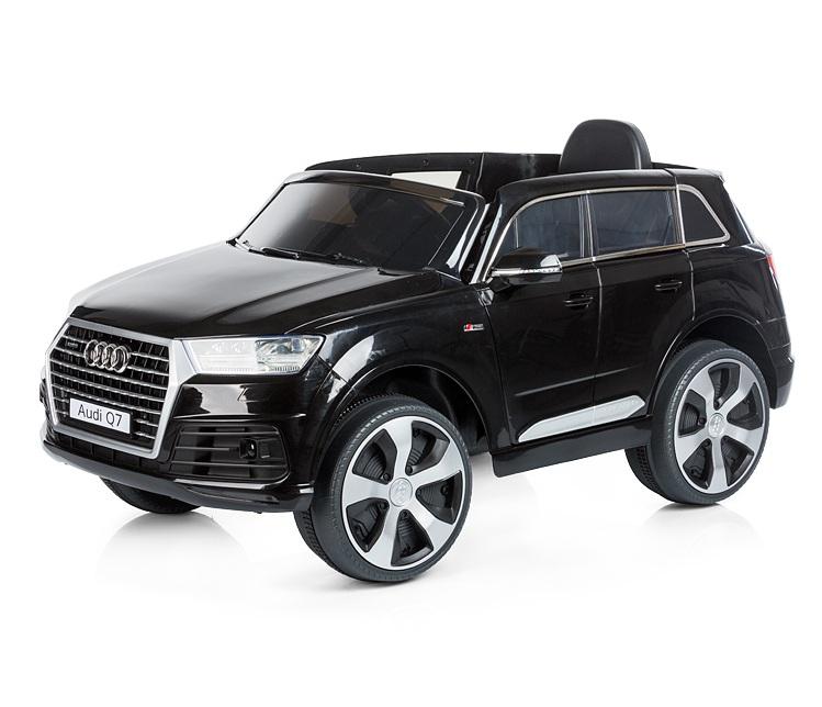 Masinuta electrica cu telecomanda Chipolino SUV Audi Q7 black