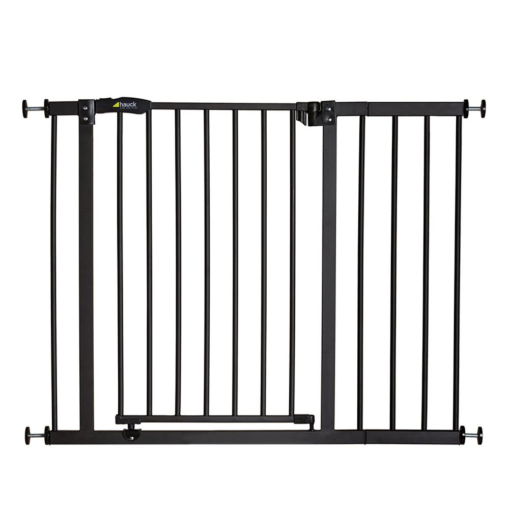 Poarta siguranta cu extensie Closen Stop + 21 cm charcoal 75 - 101 cm imagine