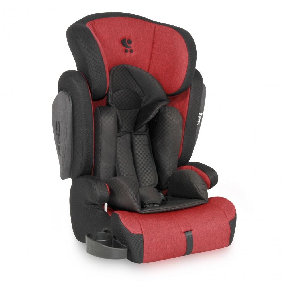 Scaun auto 9-36 kg Omega red black