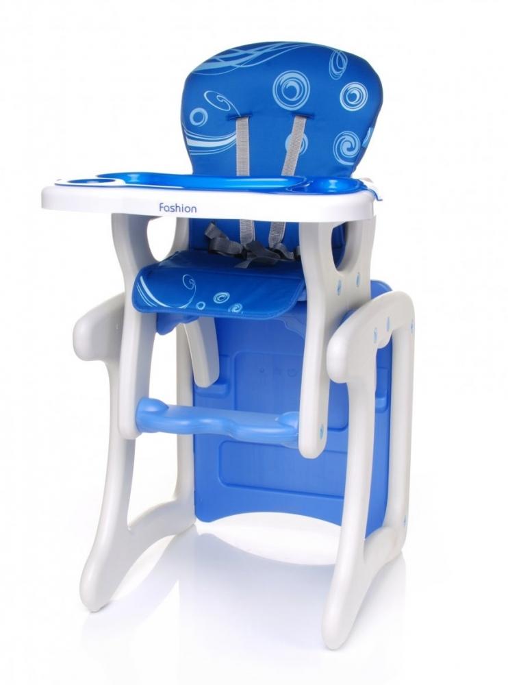 Scaun de masa 2in1 4Baby Albastru