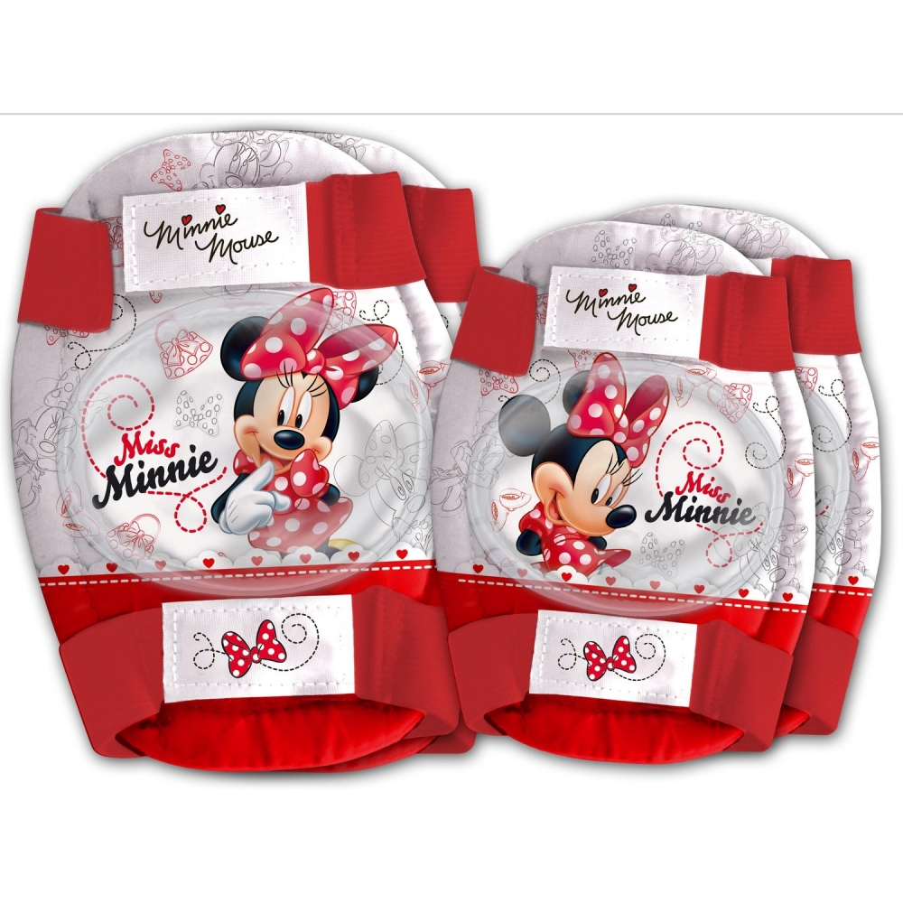 Set protectie Cotiere Genunchiere Minnie Disney Eurasia 35628