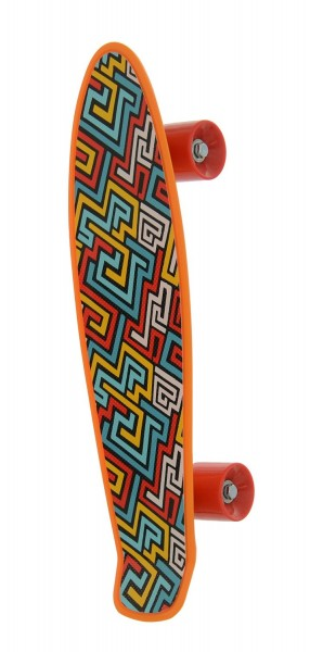 Skateboard copii Cruiserboard Pennyboard model Aztec 53cm imagine