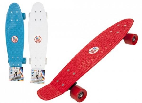 Skateboard copii longboard model Retro 57cm lungime 100kg imagine