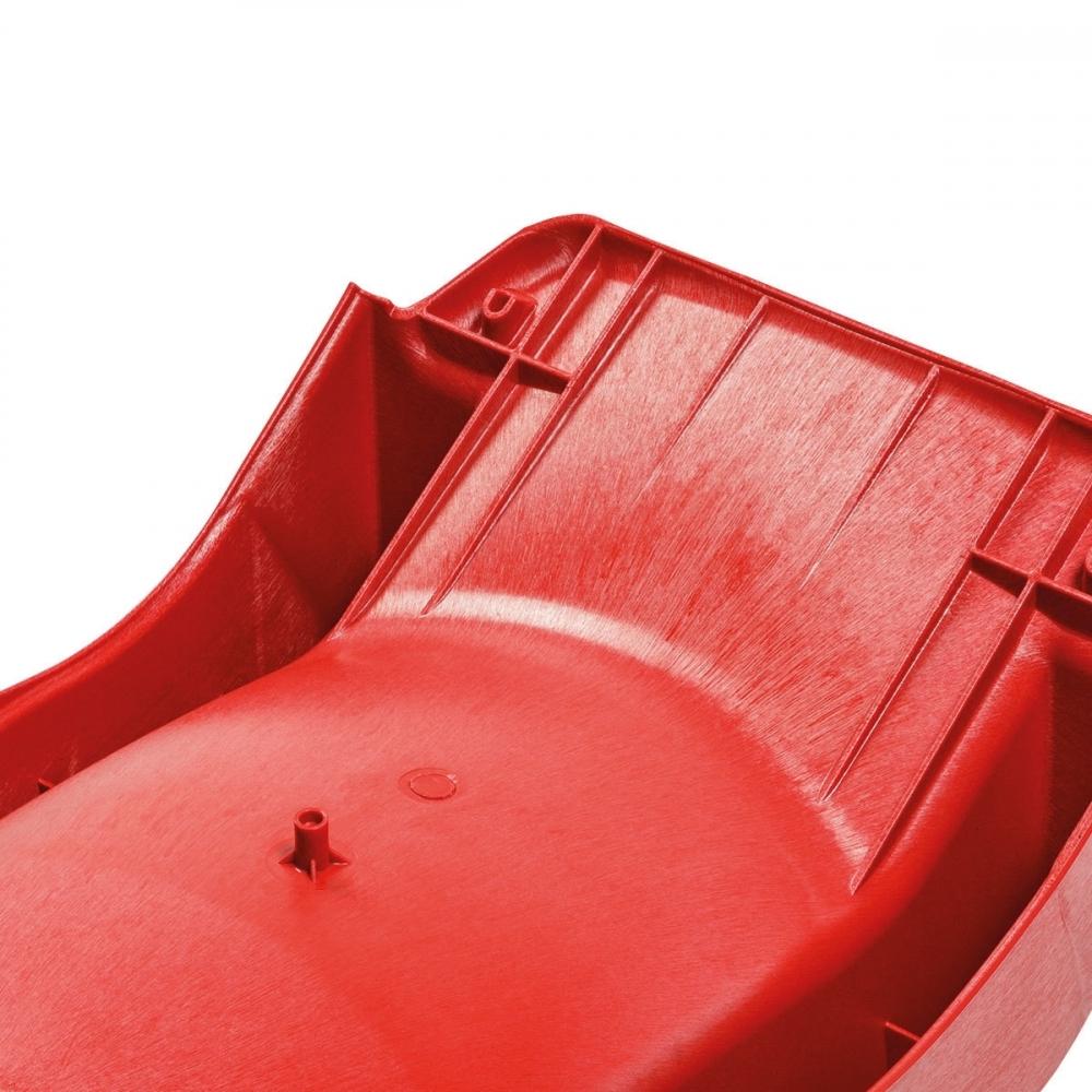Tobogan HDPE Slide rampa 150 cm rosu