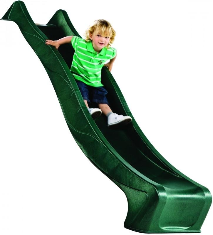 Tobogan HDPE Slide rampa 150 cm verde