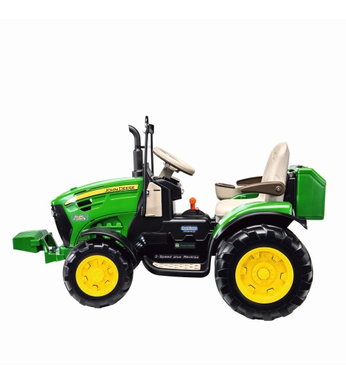 Tractor electric John Deere Dual Force Peg Perego