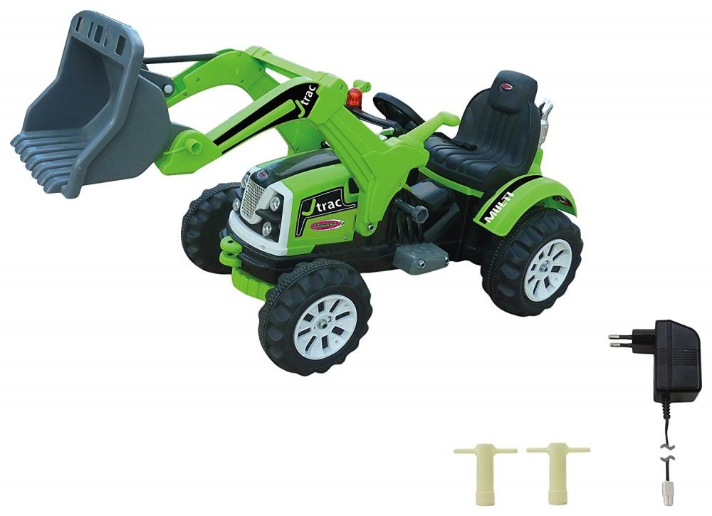 Tractor excavator cu cupa functionala electrica Jamara 6V 7 Ah