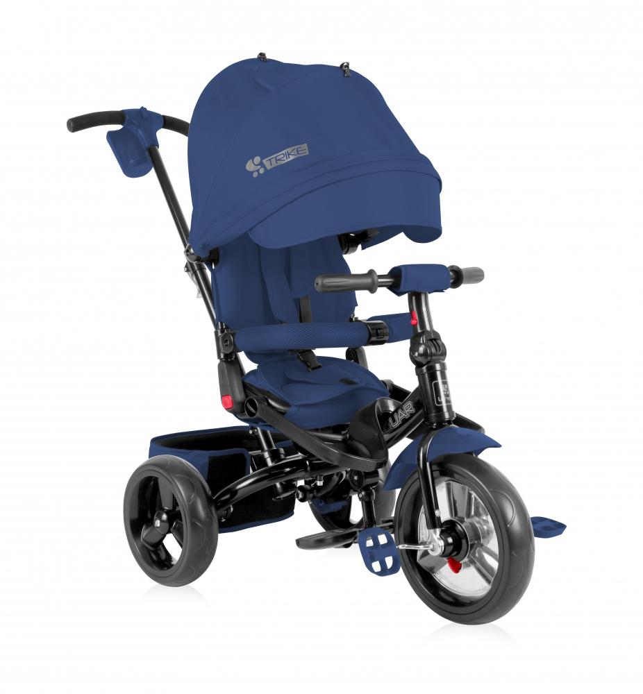 Tricicleta cu sezut reversibil Jaguar blue