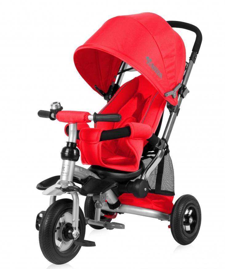 Tricicleta cu roti gonflabile Lexus Air Red