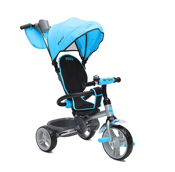 Tricicleta pentru copii Byox Flexy Albastra